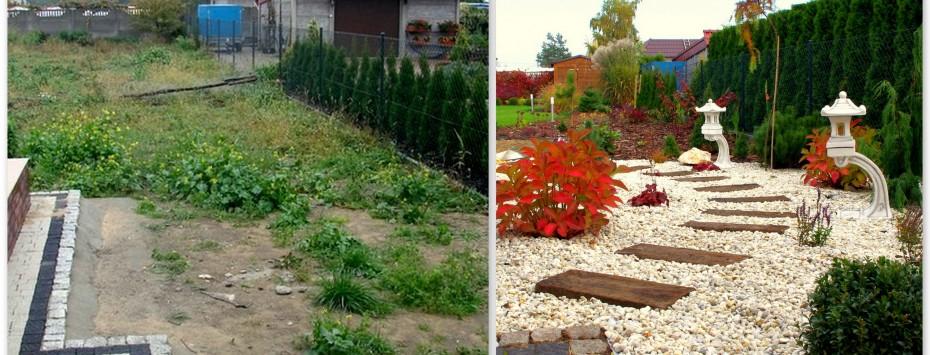 Rewitalizacja ogrodu, tak było – tak jest!